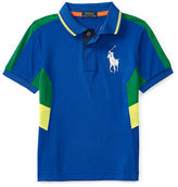 Ralph Lauren Boys 2-7 Paneled Polo