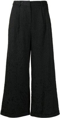 Shanghai Tang Brocade Pattern Trousers