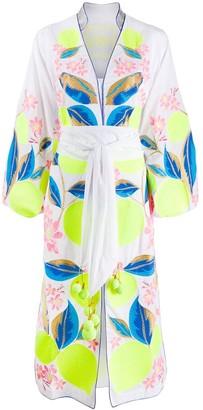 Yuliya Magdych Lemons dress