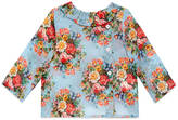 Gucci Baby floral print cotton shirt