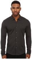 Scotch & Soda Long Sleeve Shirt in Shiny Cotton Jersey Quality