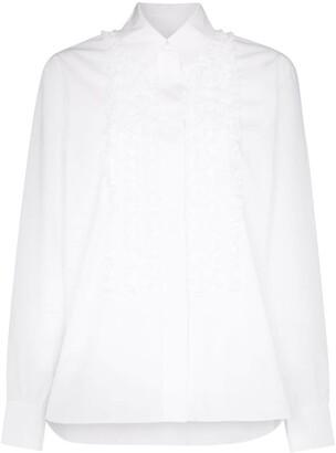Alexandre Vauthier Ruffle Front Shirt
