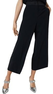 Marella Grace Cropped Wide-Leg Pants