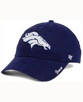 '47 Women's Denver Broncos Glitter Logo Clean Up Cap