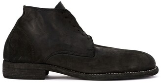 Guidi Lace-Up Fitted Boots