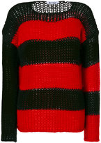 Dondup horizontal striped jumper