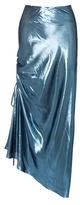 Ellery The Merry Widow Metallic Silk-blend Skirt