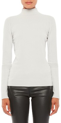 Emporio Armani Ribbed Long-Sleeve Turtleneck