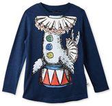 Stella McCartney midnight barley seal t-shirt