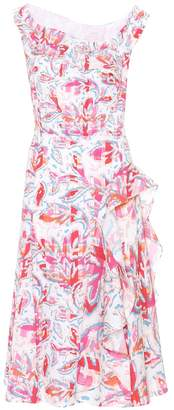 Peter Pilotto Off-the-shoulder printed dress
