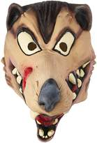 Disguise Men's Hungry Wolf Latex Costume Mask
