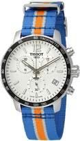 Tissot Men's T0954171703706 Quickster Analog Display Swiss Quartz Multi-Color Watch
