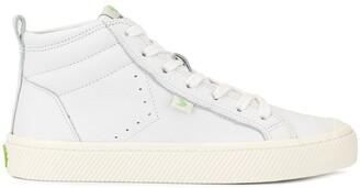 Cariuma OCA High Off White Premium Leather Sneaker