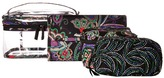Vera Bradley Travel Cosmetic Set Cosmetic Case