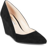 INC International Concepts Zarie Suede Wedge Pumps, Only at Macy's