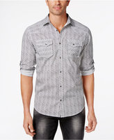 INC International Concepts Men's Dual-Pocket Printed Shirt, Created for Macy's