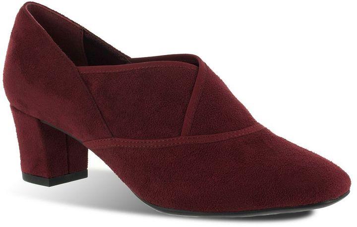 Easy street karma wide dress heels - women