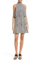 Tracy Reese Sleeveless Print Halter Dress
