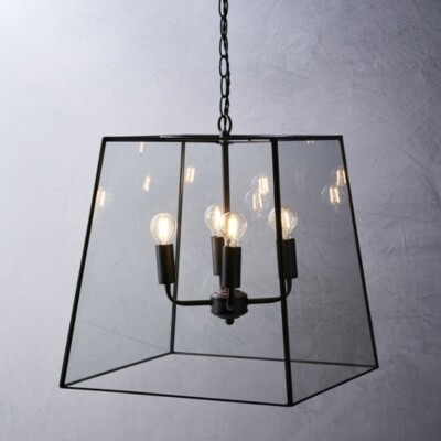 The White Company Brooklyn Extra Large Ceiling Light, Bronze, One Size
