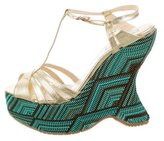 LK Bennett Lydia Wedge Sandals w/ Tags