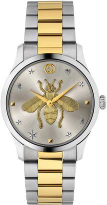Gucci Men's Bee Two-Tone Bracelet Watch