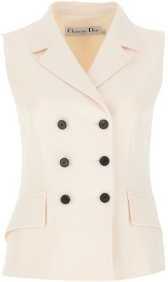 Christian Dior Double-Breasted Vest Jacket