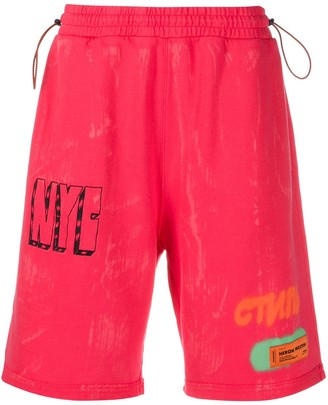 Heron Preston Drawstring Bermuda Shorts