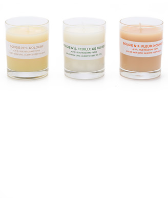 A.P.C. Scented Candle Gift Set