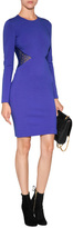 Emilio Pucci Dress with Lace Cut Outs in Indaco