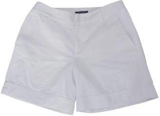 Lauren Ralph Lauren White Cotton Shorts for Women