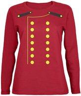 Old Glory Halloween Hotel Bellhop Costume Womens Long Sleeve T Shirt 2XL