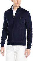 Lacoste Men's Sport Full Zip Brushed Fleece Sweatshirt