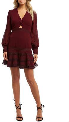 Bardot 54027Db Luella Lace Trim Dress