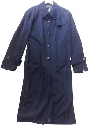 Jil Sander Black Wool Coat for Women Vintage