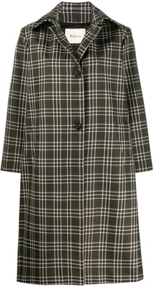 Mulberry Isabella check technical coat