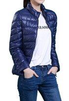 HengJia Women's Packable Down Puffer Coat Lightweight Down Winter Jacket Large