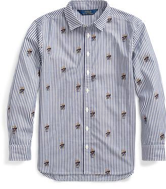 Ralph Lauren Sweater Bear Cotton Shirt