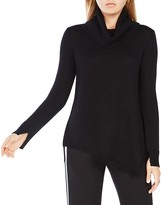 BCBGMAXAZRIA Waris Merino-Wool Cowl Neck Sweater