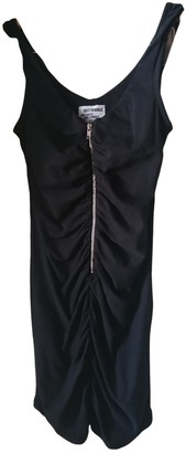 Just Female Black Cotton Dress for Women