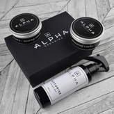 Alpha Grooming Mens's Creme Hair Styling And Sea Salt Gift Box