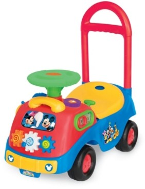 Kiddieland Disney Mickey And Friends Activity Gears Ride On Mickey Mouse