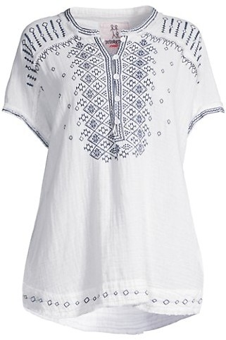 Medium Se\u00f1orita Embroidered Peasant Blouse Long Sleeve-Black Off the Shoulder-Cotton BOHO-Hippie-Summer-Traditional-Clothing-Frida Kahlo