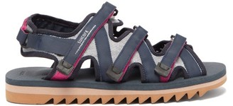Suicoke Zip Multi-strap Technical-canvas Sandals - Navy Multi