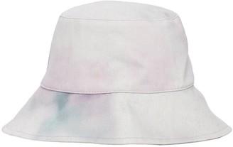 Isabel Marant Haley Tie Dye Cotton Denim Bucket Hat