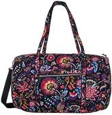 Vera Bradley Iconic Lay Flat Travel Duffel (Foxwood) Bags