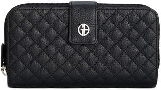 Giani Bernini Quilted Leather All In One Wallet