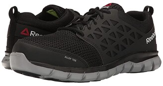 Reebok Work Sublite Cushion Work EH (Black Synthetic) Men's Work Boots