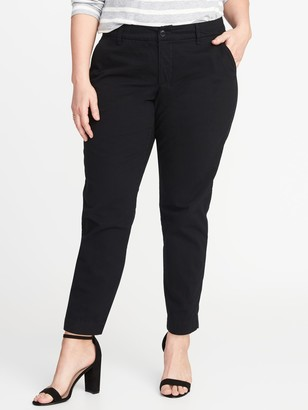 Old Navy Secret-Slim Pockets Plus-Size Everyday Skinny Khakis