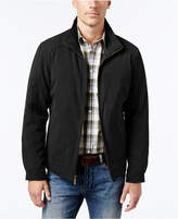 London Fog Big & Tall Microfiber Bomber Coat