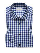 Eton Contemporary Fit Gingham Plaid Shirt